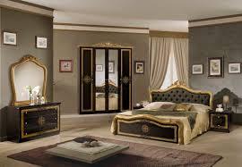 kommode mit spiegel lucia in schwarz gold klassisch