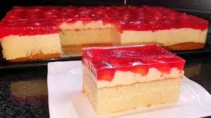 erdbeer schmand kuchen mit vanillecreme blechkuchen rezept