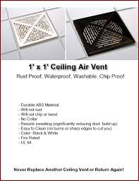 Ceiling Ac Vent Deflectors by Ceiling Vents Returns Deflectors Diverters Washable