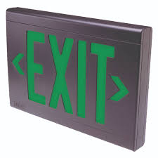 lx series exit signs emergency exit lighting lighting