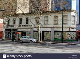 100 Melbourne Warehouse After 60 Years JOB WAREHOUSE Is Closed Stock Photo