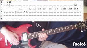 Today Smashing Pumpkins Tablature by In Bloom By Nirvana Full Guitar Lesson U0026 Tabs W Solo Youtube