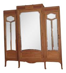 Vintage Oak Mirrored Armoire | Armoires, Art Deco And French Art Studio Twenty Two French Art Deco Armoire Beautiful Walnut Tallboy Compactum Compact Small Antique Bedroom Fniture Interior Design Art Nouveau Essay Symbolism Heilbrunn Timeline Of Grande Coiffeuse Loupe D Orme Moderniste Ancien Cool Waterfall Style Chifferobe Attainable Dressers Chests And Storage World Market Set Bed Nightstands 1 A Crotch Mahogany Cabinet From France At Armoires Deco This Armoire Is Featured In Solid Wood With Glossy