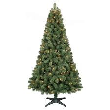6ft Prelit Artificial Christmas Tree Alberta Spruce Clear Lights