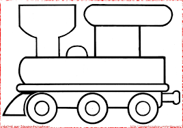 Coloring Pages Trains Fun Time