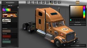 100 All American Trucking AW ALL AMERICAN SKIN V1 ATS Mod Truck Simulator Mod