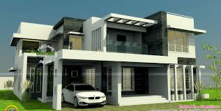100 Modern Two Storey House With Three Bedrooms And Three Living Rooms