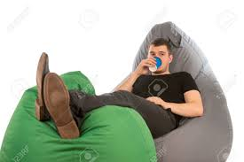 Young Man Lying On Beanbag Chairs And Drinking Coffee Isolated.. The Coffee Time Style Bean Bag Chair Garden Camping Beanbag Cover Lazy Sofa Anywhere Portable Sitting Cushionin Living Room Chairs From Fniture On 2017 New Hot Sale Modern Leather Set L Armchair With Coffee Bag Chair Round Table Outdoor Cover West Elm Canada Pallet Ottoman Biggie Bags Xl Size Cream Empty New Premium Soft Replica Tolix In Gunmetal Cushion Cafe Chevron Sack 5 Ft Multiple Colors Rustic Pig A French Feed Refinished Diy Fufsack Wide Wale Corduroy 7foot Xxl