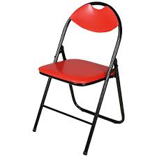 Cushioned Folding Chair