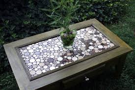 coffee table exceptional mosaic tile coffee table contemporary