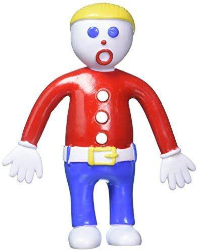 NJ Croce Mr. Bill Poseable Bendable Doll Figure Toy