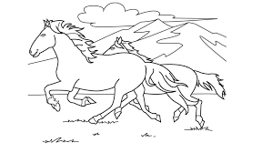 Coloring Pages Horse Barrel Racing Home Race Printable Pictures