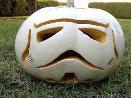 Star Wars Stormtrooper Pumpkin Stencil by Jennifer Landa Starwars Com
