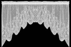 Battenburg Lace Curtains Ecru by Domesticlacelacepatterns