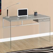 Staples Tempered Glass Computer Desk by Monarch Computer Desk 48
