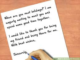 How to End a Letter Sincerely 8 Steps with wikiHow