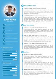 Resume Template By Sladedesign Powerpoint Pptx Graphicriver Envato Templates