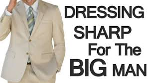 Style Tips For Large Men