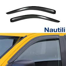 100 Truck Window Visors 2pcs For 0208 Ram 1500 0309 25003500 2D Regular Cab Guard