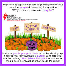 Pumpkin Patch Fort Worth Tx 2014 by November Is National Epilepsy Awareness Month