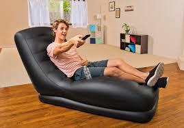 Intex Inflatable Sofa Uk by Intex Inflatable Mega Air Lounge Living Dorm Room Lounger Black