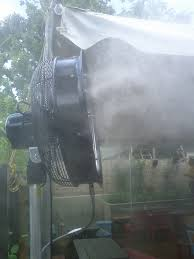 Portable Patio Misting Fans by Mcs News U2013 Mist Cooling Systems