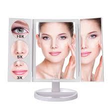 amazon com makartt lighted makeup mirror 2017 newest 5 in 1