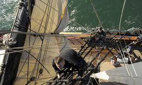 Hms Bounty Sinking 2012 by The Day Video Coast Guard Rescues 14 In Hms Bounty Sinking One