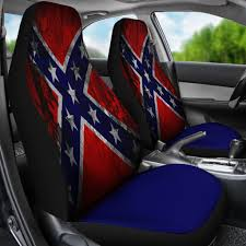 100 Rebel Flag Truck Car Seat Covers Confederate Car Seat Covers The