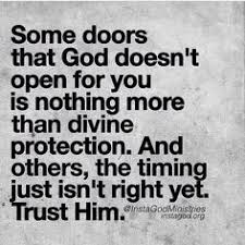 Some Doors That God Doesnt Open