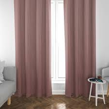 schöner leben vorhang streifen 3mm creme rosa 245cm oder wunschlänge