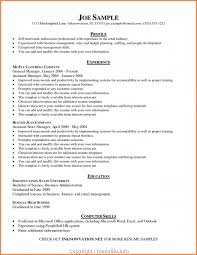 Free Business Management Resume Profile Examples Professional Sample Resumes Asset Objective