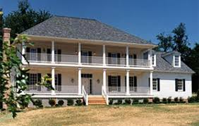 Southern Colonial Homes by Custom Homes Exteriors Bement Sons Construction Inc