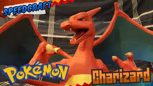 Pokemon Papercraft Charizard