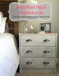 Ikea Hopen 4 Drawer Dresser by Ikea Rast Hack A Nightstand Makeover Sobremesa Stories