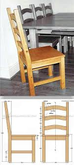 100 Wooden Dining Chairs Plans Pine Chair Furniture And Projects
