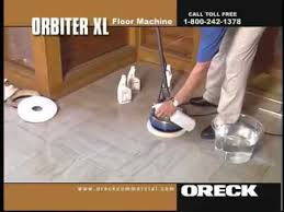 Oreck Floor Machine Pads by Oreck Commercial Orbiter Floor Machine Marble U0026 Natural Stone