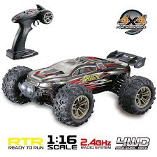 Hosim RC Car 4WD Monster Truck 1:16 Scale 2.4Ghz Off-Road Remote ... 12 Volt Rc Remote Control Chevy Style Monster Truck A Quick History Of Tamiyas Solidaxle Trucks Car Action Traxxas Bigfoot Ripit Cars Fancing Stampede 4x4 Amazoncom Cheerwing 116 24ghz 4wd High Speed Offroad 112 24g 2wd Alloy Off Redcat Rampage Mt V3 15 Gas Cars For Sale Scale 143 Micro 8 Assorted Styles Toys Hosim Arrma 110 Granite Voltage Rtr Blue