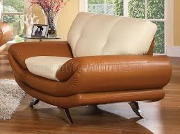 Ethan Allen Leather Sofa by Ethan Allen Brown Leather Sofa Loose Back Pillows And Seat For Top