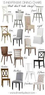 15 Inexpensive Dining Chairs (That Don't Look Cheap!) | Home Decor ... 26 Ding Room Sets Big And Small With Bench Seating 2019 Mesmerizing Ashley Fniture Dinette With Cheap Table Chairs Awesome Black Oak Ding Room Chairs For Sale Kitchen Interiors Prices Bobs 5465 Discount Ikea 15 Inexpensive That Dont Look Home Decor Cozy Target For Inspiring Set Irreplaceable Tips While Shopping Top 5 Chair Styles French Country Best Lovely Shop Simple Living Solid Wood Fresh Elegant