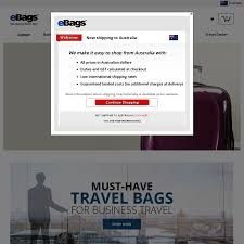 Ebags.com FREE DHL (Economy) SHIPPING To Australia (through ... Ebags Massive Sale Includes Tumi And Samsonite Luggage Coupon Ebags Birthday Deals Twin Cities Mn Online Discount Code Gardeners Supply Company Coupon Dacardworld Promo For New Era Romans Codes Glassescom Promo 2018 Code Deal 2014 Classic Packing Cubes Travel 6pc Value Set Black Wonderful Ebags Codes 80 Off Coupons Jansport Columbus In Usa How To Get Free Amazon Generator Ninja Tricks At Stacking Offers For 50 Savings