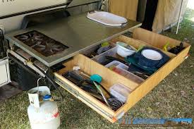 Rv Kitchen Accessories Camper Outdoor Ideas Large Size Storage