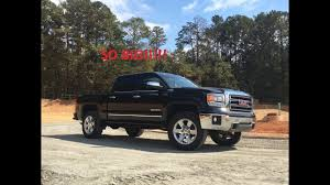 Biggest Tires On A Stock Z71 - YouTube