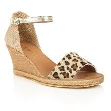buy ravel ladies u0027 lawton wedge sandals online in leopard print