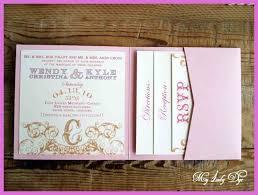 Charlotte Shabby Chic Wedding Invitations Parcel Invitation Template
