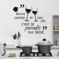 proverbe cuisine humour créative stickers muraux pour cuisine décoration à la maison fond