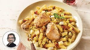 pâtes au poulet express à l italienne
