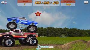 100 Monster Trucks Games Play Crazy Mustang Truck Game Online Free