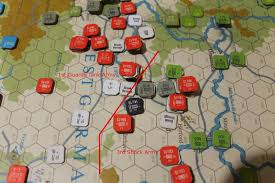 3rd Shock And 1st Guards Tank Armies Positions D 3 1800 Zulu Time