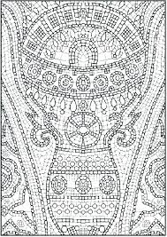 Printable Hard Coloring Pages To Print That Are Colouring Mandala Color In Difficult